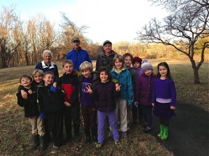 group picture of 4-H Junior Naturalist youth